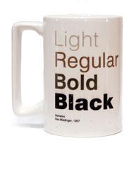 The Helvetica Mug