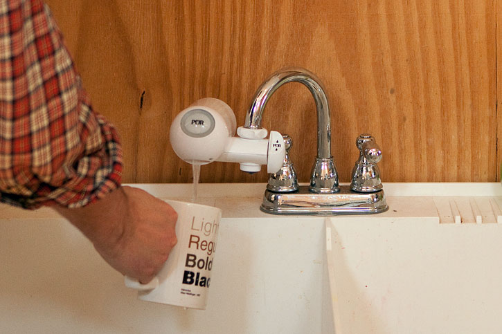 50 Ways: Use a water filter